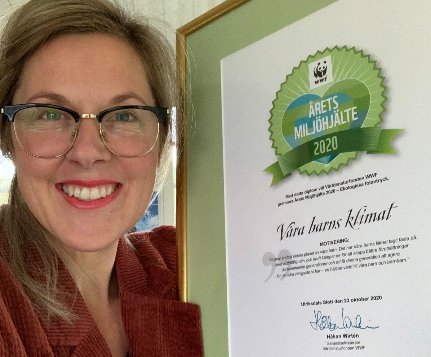 Årets miljöhjälte 2020