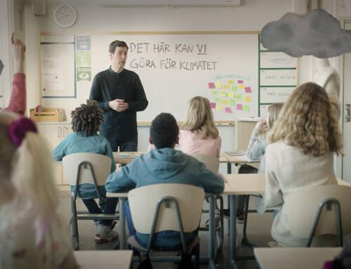 Åtta av tio unga vill ha klimatundervisning i skolan